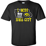 "Iowa Hawkeyes ""I Miss Iowa City"" Tee"