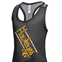 Iowa Hawkeyes Girls Victory Tank-Black