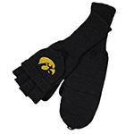 Iowa Hawkeyes Flip Top Gloves