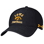 Iowa Hawkeyes Rip Stop Cap-Black