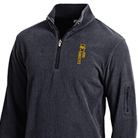 Iowa Hawkeyes Textured Fleece Jacket
