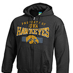 Iowa Hawkeyes Power Blend Full Zip Hoody