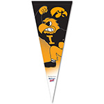 Iowa Hawkeyes Fighting Herky Premium Pennant