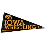 Iowa Hawkeyes Wrestling Premium Pennant