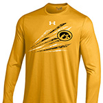 Iowa Hawkeyes Long Sleeve Tech Tee