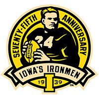 Iowa Hawkeyes Ironmen Decal