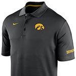 Iowa Hawkeyes Varsity Fan Polo