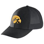 Iowa Hawkeyes Mesh Flex Cap-Black