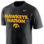 Iowa Hawkeyes Nation Tee