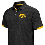 Iowa Hawkeyes Spiral Polo