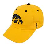 Iowa Hawkeyes Crew Two Cap-Gold