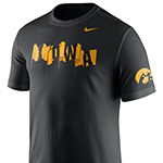 Iowa Hawkeyes Campus Elements Tee