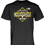 Iowa Hawkeyes Big 10 West Division Champions Tee