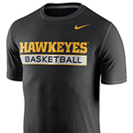 Iowa Hawkeyes Basketball Tee