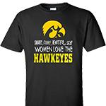 Iowa Hawkeyes Women Love The Hawkeyes Tee