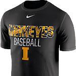 Iowa Hawkeye Baseball Legend Team Issue Tee