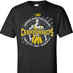 Iowa Hawkeyes Wrestling Champions Tee