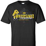 Iowa Hawkeyes Wrestling Championship Tee