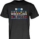 Iowa Hawkeyes Wrestling Big 10 Championships Tee