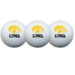 Iowa Hawkeyes Logo 3-Pack Golf Balls