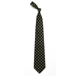 Iowa Hawkeyes Pattern Silk Tie