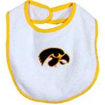 Iowa Hawkeyes White/Gold Bib