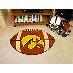 Iowa Hawkeyes Football Rug