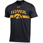 Iowa Hawkeyes T.A.P.S Black Tee