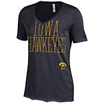 Iowa Hawkeyes Women's T.A.P.S Black Tee