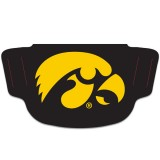 Iowa Hawkeyes Black Face Covering