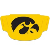 Iowa Hawkeyes Gold Face Covering