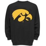 Iowa Hawkeyes Enlarged Hawkeye Essential Crewneck