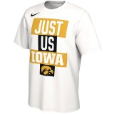 Iowa Hawkeyes Just Us Bench Tee - Short Sleeve