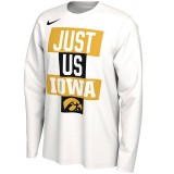 Iowa Hawkeyes Just Us Bench Tee - Long Sleeve