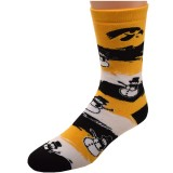 Iowa Hawkeyes Snowman Socks