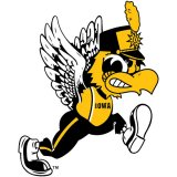 Iowa Hawkeyes Herky Marching Band Decal