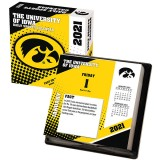 Iowa Hawkeyes 2021 Box Calendar