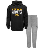 Iowa Hawkeyes Toddler Fan Flare Hoodie Set