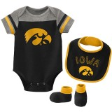 Iowa Hawkeyes Infant Tackle Creeper Set