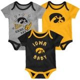 Iowa Hawkeyes Infant Champ Creeper Set