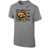 Iowa Hawkeyes Youth Legend Lift Tee