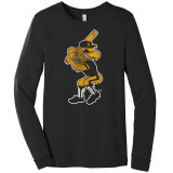Iowa Hawkeyes Baseball Rah Rah Bella and Canvas Tee