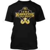 Iowa Hawkeyes Field Hockey Badge Tee