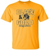 Iowa Hawkeyes Back in Gold Tee