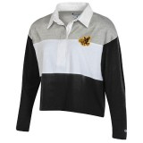 Iowa Hawkeyes Women's Crop Rugby Polo