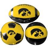 Iowa Hawkeyes 3 Pack Clam Pack