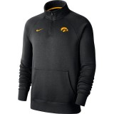 Iowa Hawkeyes Fleece Top - Quarter Zip