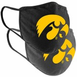 Iowa Hawkeyes 2 Pack Mask