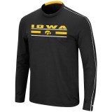 Iowa Hawkeyes Long Sleeve Black Tee