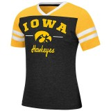 Iowa Hawkeyes Girls Pearl Tee
